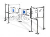 Dual Mechanical Gate Supermarket Gate , Swing Gate, Entrance Gates