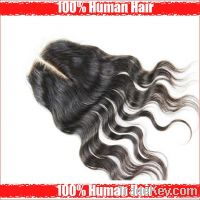 Free shipping Cheap Brazilian Virgin Human Hair Body Wave Middle Part