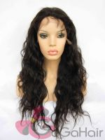 "Bestselling Human Hair Malaysian Virgin Hair Wavy Lace Front With Weft Back 8""-24"" Cheap Free Same Day Shipping"