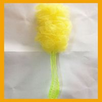 long bath sponge with handle