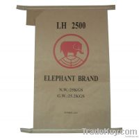 strong and large kraft paper bags for cement 25kg , valve bags