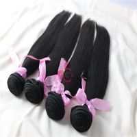Unprocessed Peruvian Straight Weaving Hair 100% Virgin Human Hair Extensions100g/pc Natural Color Grade AAAAA Free Shipping