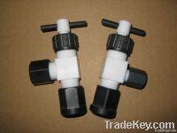 Teflon valves