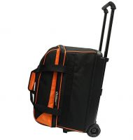 High quality Two-ball golf bowling bag with wheels