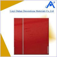 acrylic faced MDF for cabinet door high glossy anti-scratch