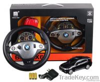 2014 New Licensed 1:24 RC Car with Novelty transmitter, RC car for kids