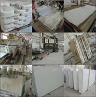 Wholesale engineered polished artificial quartz stone