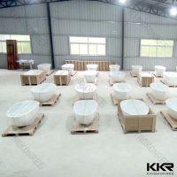 KKR wholesale solid surface bathtub, bathtub price