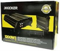Kicker 12CX600.5 1200W 5-Channel Car Audio Amplifier