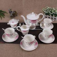 15pc. porcelain tea pot/coffee set , white coffee mug for  gifts