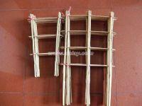 U shape bamboo trellis