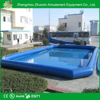 size can be customized inflatable swimming pool for sale and any color for choose