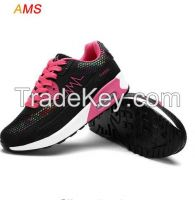 2016 Hot Air Mesh Breathable Women Running Shoes Girls Ladies Comfortable Platform Sport Shoes Sneakers Outdoor Movement Female