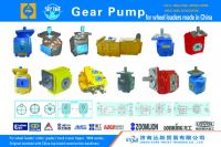 gear pumps for construction machinery