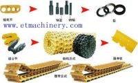complete bulldozer chassis spare parts