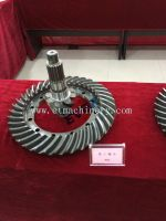Bevel gears for loaders