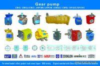 pump CBGJ for wheel loader / roller/ grader  truck crane