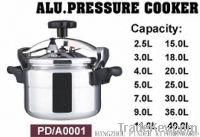 Aluminum pressurecooker