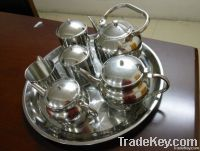 12pcs cookware set/stainless steel teapot