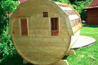 Outdoor Barrel Saunas