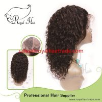 Top quality high density straight natural color 8-24inch100% Virgin brazilian human hair full lace wig