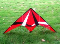 New Red Professional Dual Line Stunt Kite