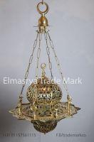Arabic Gold Brass Hanging Lamp Lantern/Chandelier Lighting # CH-100