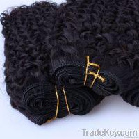 100% Brazilian Human Hair  Kinky curl Jet black