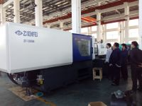 328T Plastic injection molding machine with PVC , PC screw