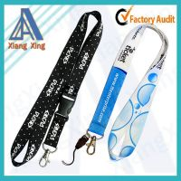 Any kind of custom polyester lanyard for world cup 2014