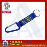 Western style cheap custom short lanyard with carabiner