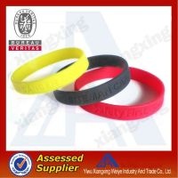 hot sale personalized silicone wristbands for promotional