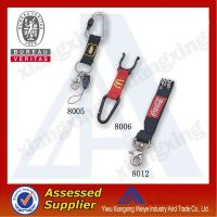 Western style cheap custom short lanyard create your own brand