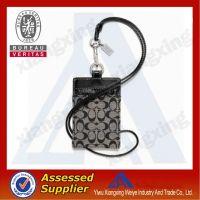 Crystal retractable rhinestone lanyards with id badge holder, lanyard