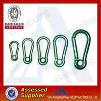 2014 factory sell fashionable colorful designer carabiner hook on China market