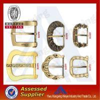 Hot selling all shaped designer antique brass metal belt buckle on China market