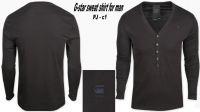 Man sweat shirt and cotton shirt