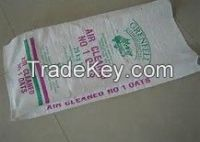 pp woven bag for Rice, Sugar, Flour, Wheat,Feed,Fetilizer,/wholesale recyclable bags