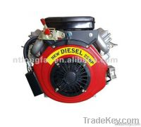 22HP V-twin 2 cylinder Diesel Engine LP2V86