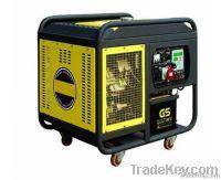 half-closed single phase diesel generator LP15000TA