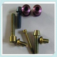 colorful titanium bolts