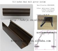PVC gutter system,roof drainage system�¯�¼ï¿½gutter & downspout