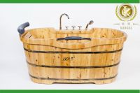 Wooden Baths, hand crafted wooden baths,walk in bathtub with jet