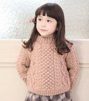 Girl Sweater/Bonnet/Gloves for Export