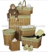 Laundry basket baby storage basket wholesale