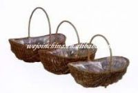Wholesale wicker Flower Basket