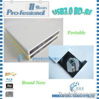New Style SATA USB3.0 DVDRW External Optical Drive (White/Black)