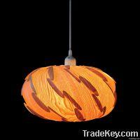 Wood veneer shade