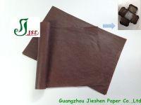 coffee/ brown glassine paper/ paper cake cups
