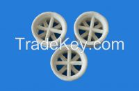 Industrial ceramic raschig, cross-partition rings packing